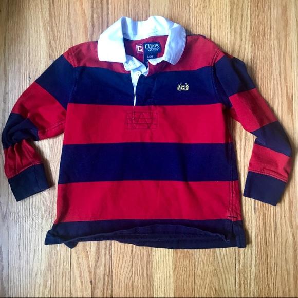 bcbf5c1289c Chaps Shirts & Tops | 312 Boys Rugby Shirt | Poshmark